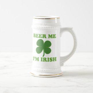 Beer Me Im Irish 18 Oz Beer Stein
