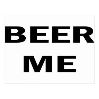 Beer Me Postcard
