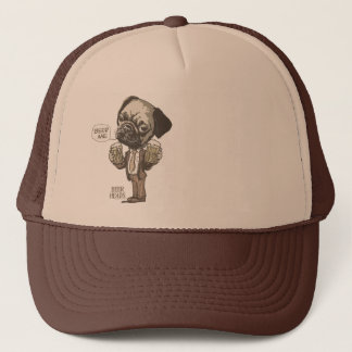 Beer Me Pug by Mudge Studios Trucker Hat