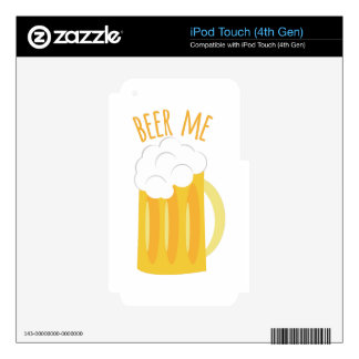 Beer Me Decals For iPod Touch 4G