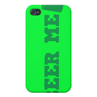 BEER ME St Patricks day green design Cases For iPhone 4
