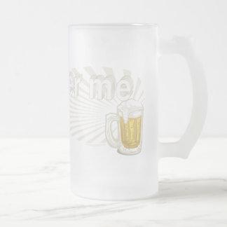 Beer Me T. Rex by Mudge Studios Mugs