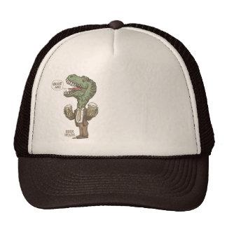 Beer Me T. Rex by Mudge Studios Trucker Hat