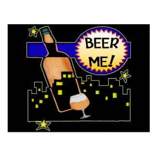Beer Me T-shirts Gifts Postcard