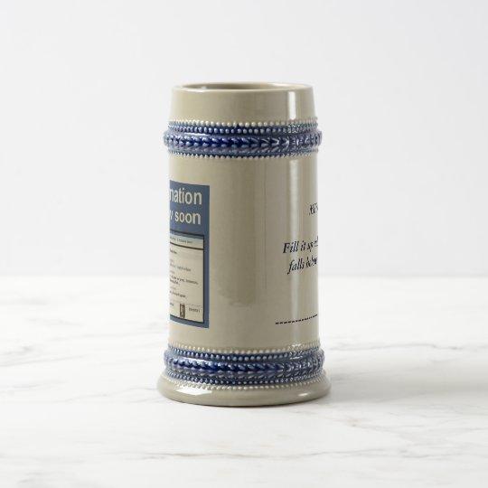 beer memo.... beer stein