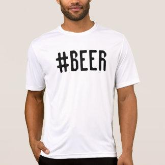 #BEER Men's Sport-Tek Competitor T-Shirt, White T-Shirt