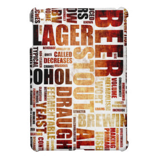 Beer Menu Background Cover For The iPad Mini