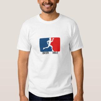Beer Mile Logo T-Shirt