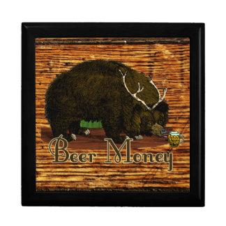 Beer Money Bear Stash Gift Box