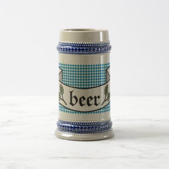 Beer more beer beer stein