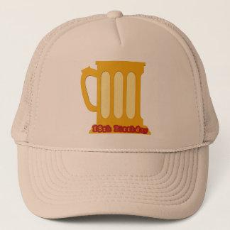 Beer Mug 18th Birthday Gifts Trucker Hat