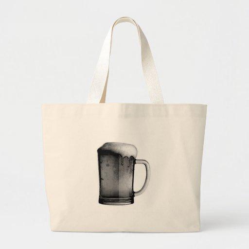 Beer Mug Tote Bags