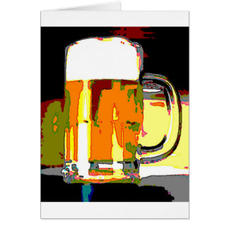 Beer Mug Card