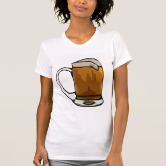 Beer Mug Caricature T-Shirt