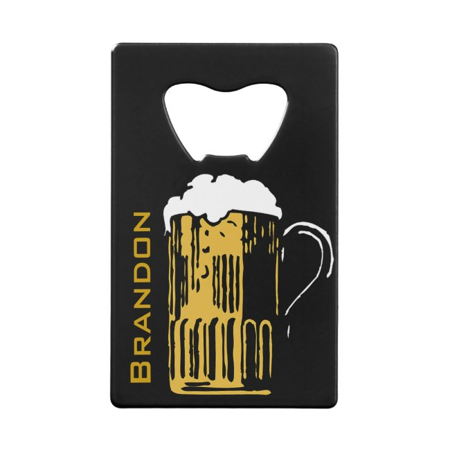 Beer Mug Design Bottle Opener