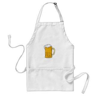 Beer Mug Drawing Adult Apron