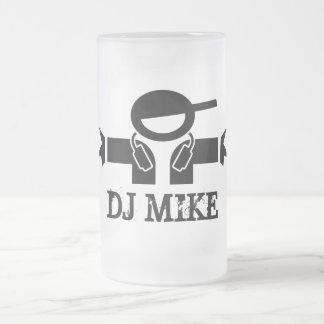 Beer mug for Deejays | Customizable DJ name
