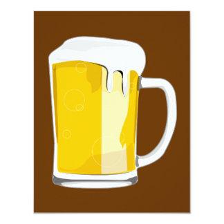 Beer mug invitation