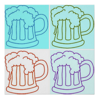 Beer Mug /Oktoberfest Poster