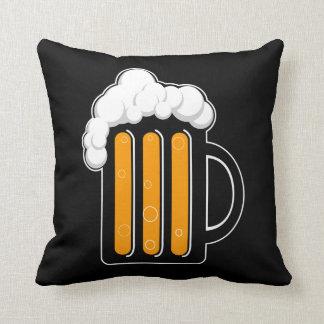 Beer mug pillow