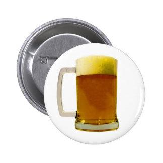 Beer Mug Pinback Button