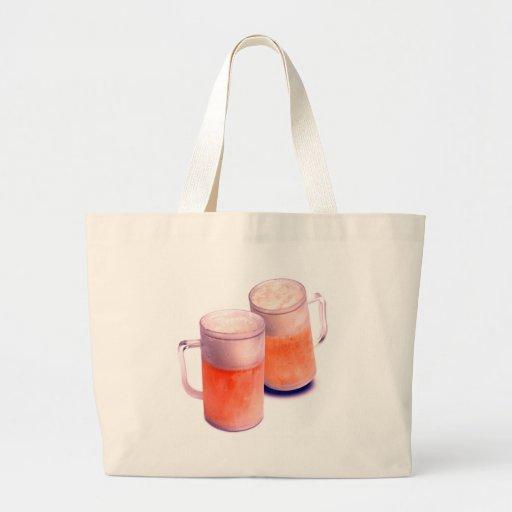 Beer Mugs Tote Bag