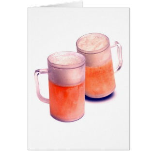Beer Mugs Card