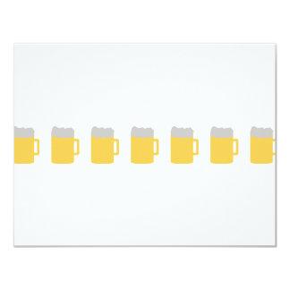 beer mugs icon card