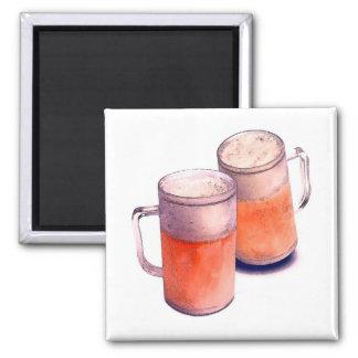 Beer Mugs Magnets