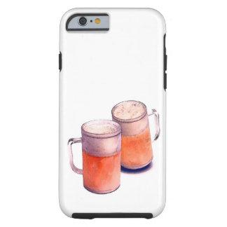 Beer Mugs Tough iPhone 6 Case