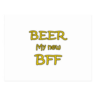 Beer My New BFF Postcard