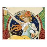 Beer Nouveau Post Cards