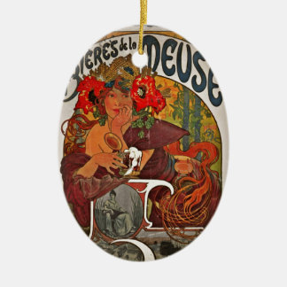 Beer of the Meuse Ceramic Ornament