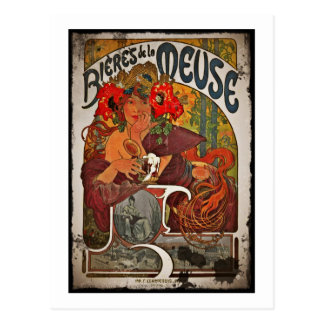 Beer of the Meuse Postcard