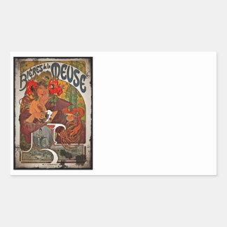 Beer of the Meuse Rectangular Sticker