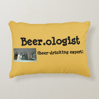 Beer.ologist Accent Pillow