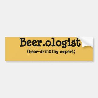 Beer.ologist Bumper Sticker