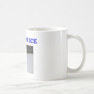 Beer on ice coffee mug