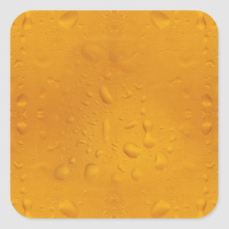 Beer pattern 8868 square sticker