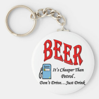 Beer Petrol Full Keychain