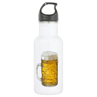 Beer 18oz Water Bottle