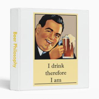 Beer Philosophy Binder