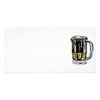 beer photo card