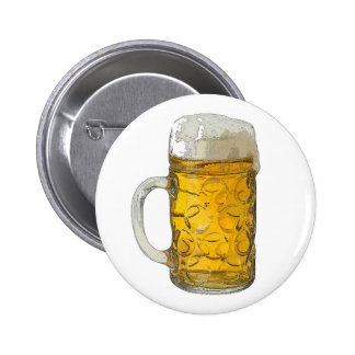 Beer Pinback Button