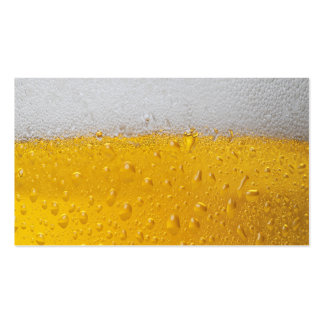 Beer Pint Business Card Template