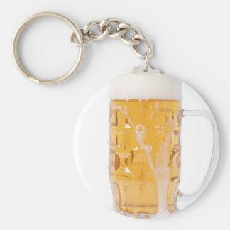 Beer pint key chain