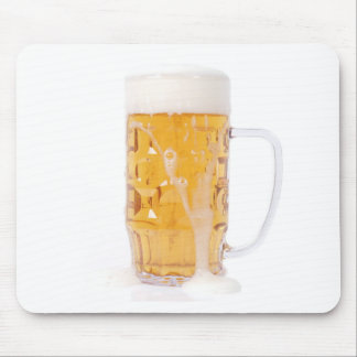 Beer pint mousepads