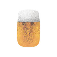 Beer Pint October Festival Stein Amber Minx Nail Wraps
