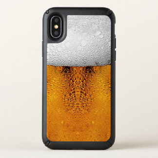 Beer Pint October Festival Stein Amber Speck iPhone X Case