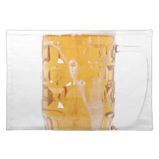 Beer pint placemat